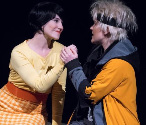 Eléonore Pancrazi et Morgane Heyse dans Manga-café
