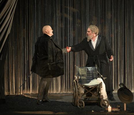 Nicolas Cavallier (Méphistophélès), Thomas Bettinger (Faust) - Faust par Julien Ostini