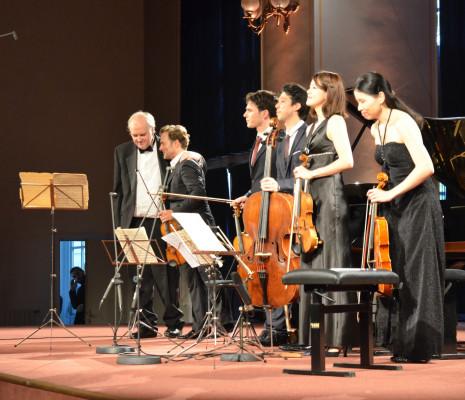 Nicholas Angelich, Renaud Capuçon & Quatuor Hermès