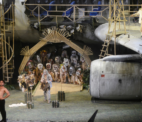 Omar Montanari, Christophe Gay & Adrian Sâmpetrean - L'Italienne à Alger par David Hermann