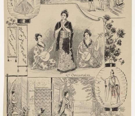 Affiche de Madame Chrysanthème