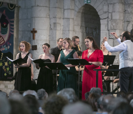 Cécile Achille, Amandine Trenc, Eugénie Lefèbvre & Chantal Santon - Issé à Saintes
