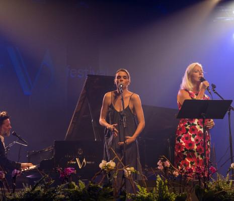 Rufus Wainwright, Leona Naess et Anne Sofie von Otter à Verbier