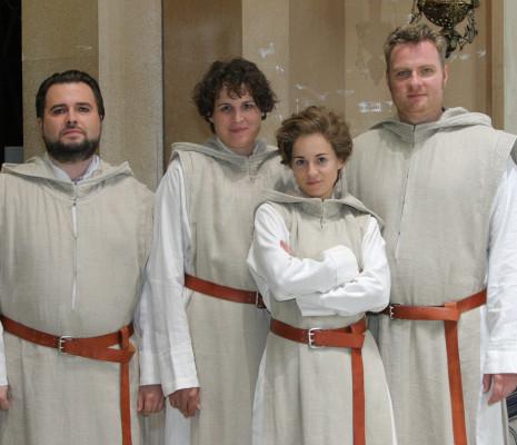 Paul Kaufmann, Mareike Morr, Alexandra Steiner et Stefan Heibach - Parsifal par Uwe-Eric Laufenberg à Bayreuth