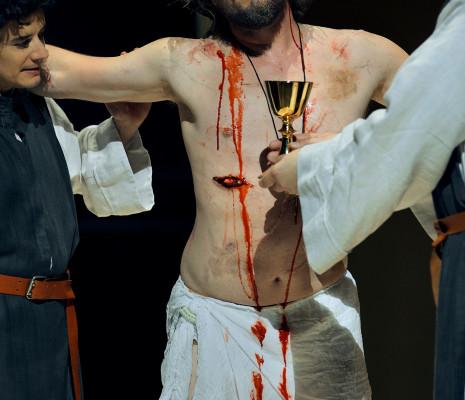 Thomas Johannes Mayer - Parsifal par Uwe-Eric Laufenberg à Bayreuth