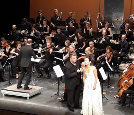 Federico Longhi et Gabrielle Philiponet - La Trilogie populaire au Festival d'Eté de Vichy