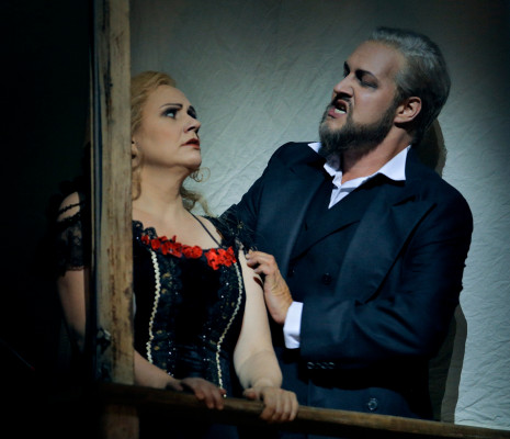 Tobias Kehrer et Anja Kampe - La Walkyrie par Frank Castorf