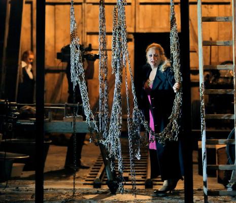 Anja Kampe - La Walkyrie par Frank Castorf