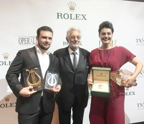 Emily D'Angelo et Pavel Petrov - Operalia 2018