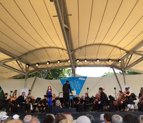 Hanna Hipp et l'Orchestre de chambre de Paris - Classique au Vert 2018