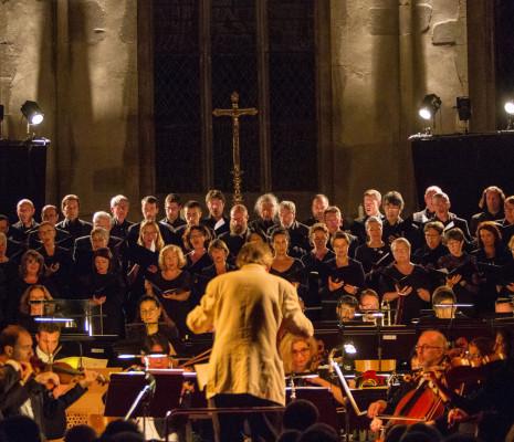 Michel Plasson et l'Orchestre National de Lorraine à Fénétrange