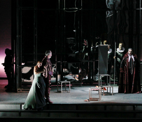 Mihaela Marcu, Francesco Landolfi & Nika Guliashvili - Rigoletto par Elena Barbalich