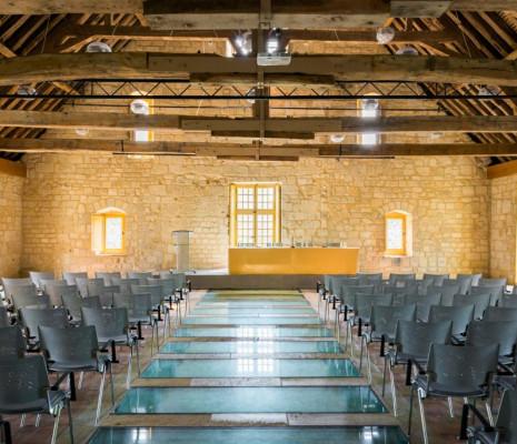 Salle des Charpentes - Royaumont
