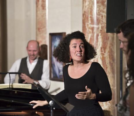 Majdouline Zerari prépare Pelléas et Mélisande
