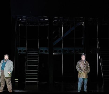 Nicola Alaimo & Ludovic Tézier - Simon Boccanegra par Calixto Bieito