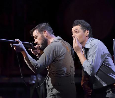Damien Pass et Damien Bigourdan dans Donnerstag aus Licht
