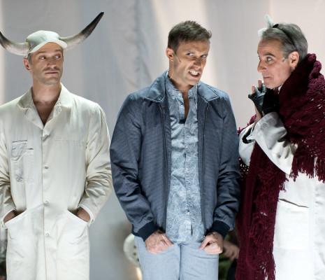 Jean-François Martin, Bastien Jacquemart, Scott Emerson - Into the woods par Olivier Bénézech