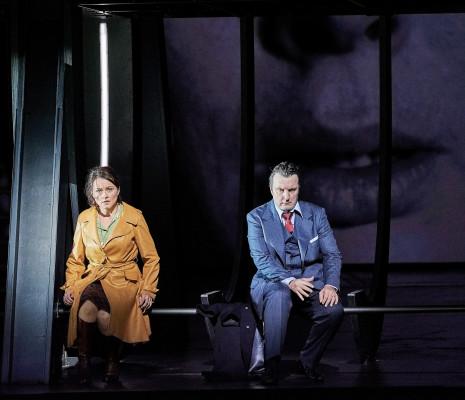 Anita Hartig & Ludovic Tézier - Simon Boccanegra par Calixto Bieito