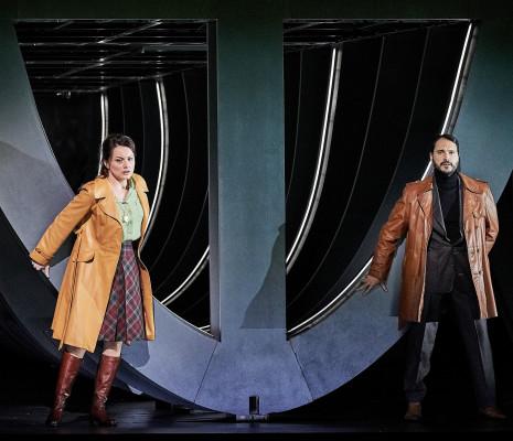 Anita Hartig & Francesco Demuro - Simon Boccanegra par Calixto Bieito