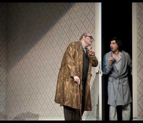Michele Pertusi & Joel Prieto - Don Pasquale par Laurent Pelly