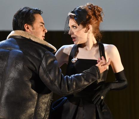 Philippe Talbot & Mireille Lebel - La Belle Hélène par Bruno Ravella