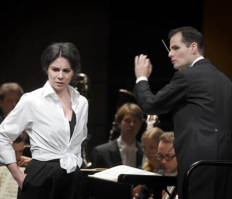 Hanna-Elisabeth Müller et Constantin Trinks dans Arabella