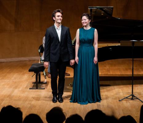 Anara Khassenova et Vincent Mussat