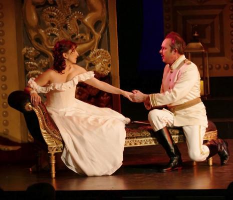 Caroline Géa & Christophe Berry - La Veuve joyeuse par Olivier Lepelletier