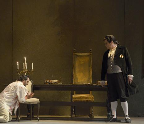 Jorge de León & Michael Volle - Tosca par Boleslaw Barlog