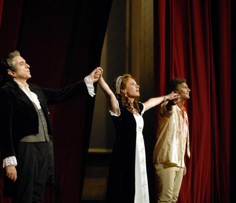 Ruggero Raimondi, Nadja Michael & Jonas Kaufmann - Tosca par Boleslaw Barlog