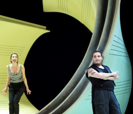 Miriam Albano & Florian Sempey - Le Barbier de Séville par Laurent Pelly