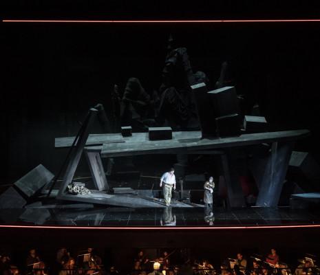 Michael Weinius et Dan Karlström - Siegfried par Dieter Dorn