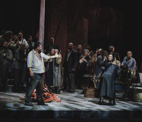 Devid Cecconi, Alexia Voulgaridou et Elena Zilio - Cavalleria Rusticana par Luigi de Gangi et Ugo Giacomazzi