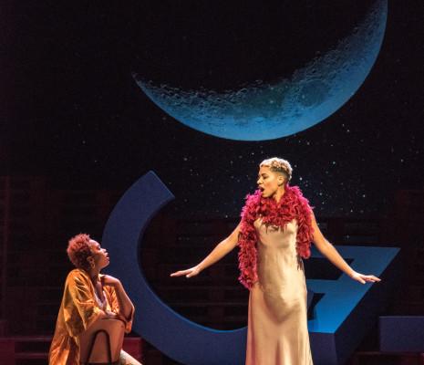 Mariamielle Lamagat et Makeda Monnet - Le Monde de la lune par Marc Paquien