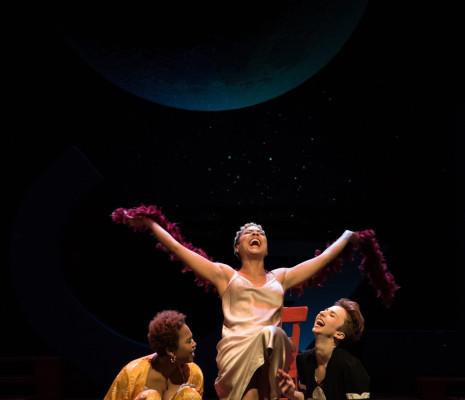 Mariamielle Lamagat, Makeda Monnet et Brenda Poupard - Le Monde de la lune par Marc Paquien