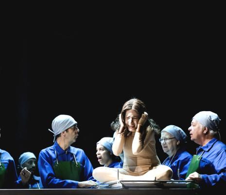 Leticia de Altamirano - Beatrix Cenci par Mariano Pensotti
