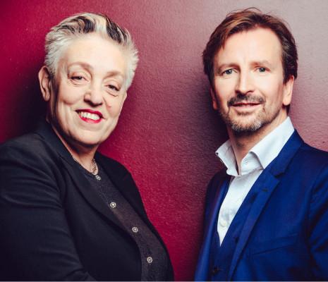 Ruth Mackenzie et Thomas Lauriot dit Prévost