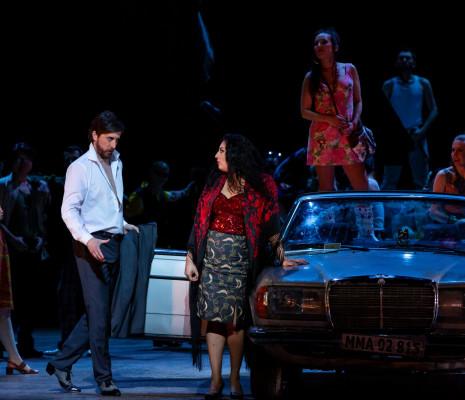 Roberto Tagliavini & Anita Rachvelishvili - Carmen par Calixto Bieito