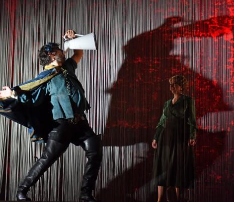 Kamil Ben Hsain Lachiri et Gwendoline Druesnes - La Forêt bleue par Victoria Duhamel