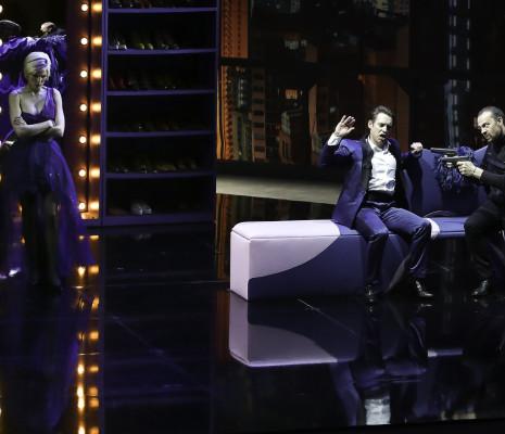 Micaëla Oeste, Guillaume Andrieux et Christophe Poncet de Solages - Amélia va au bal par Sylvie Laligne