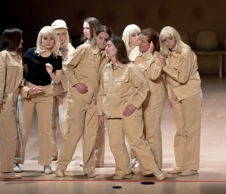 Aleksandra Olczyk, Sheva Tehoval, Ambroisine Bré, Caroline Meng - La Flûte enchantée par Romeo Castellucci