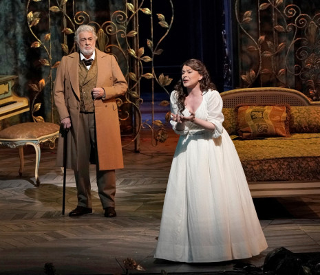 Plácido Domingo & Anita Hartig - La Traviata par Michael Mayer