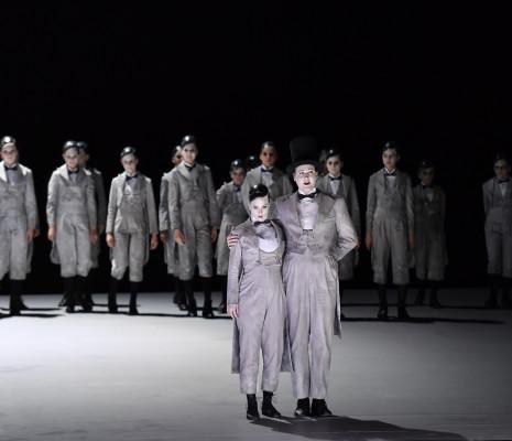 Florie Valiquette et James Hall - Le Songe d'une nuit d'été par Ted Huffman