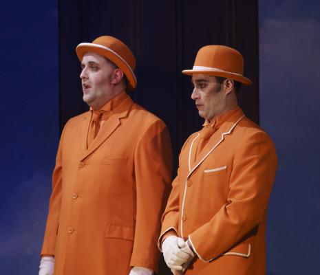 Simon Crosby Buttle & Phillip Rhodes - La Flûte enchantée par Dominic Cooke