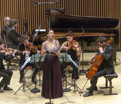 Ambroisine Bré & Quatuor Hanson
