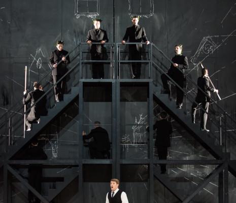 Stanislas de Barbeyrac dans Alceste mis en scène par Olivier Py
