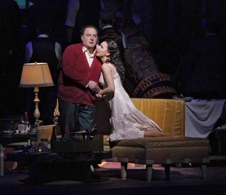 George Gagnidze & Rosa Feola - Rigoletto par Michael Mayer