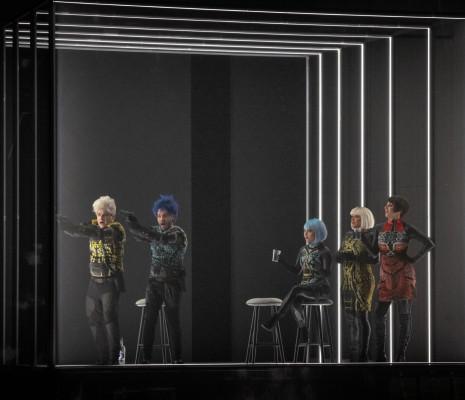 Enguerrand de Hys, Kaëlig Boché, Yete Queiroz, Norma Nahoun, Antoinette Dennefeld - Carmen par Florentine Klepper