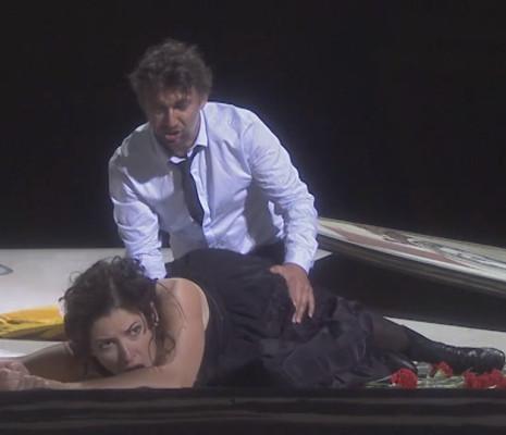 Jonas Kaufmann & Kate Aldrich - Carmen par Louis Désiré (bandeau)