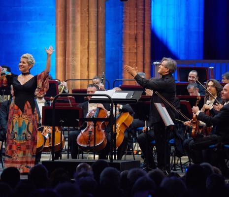 Joyce DiDonato, Antonio Pappano et l'Orchestre Académie nationale Sainte-Cécile de Rome à Saint-Denis